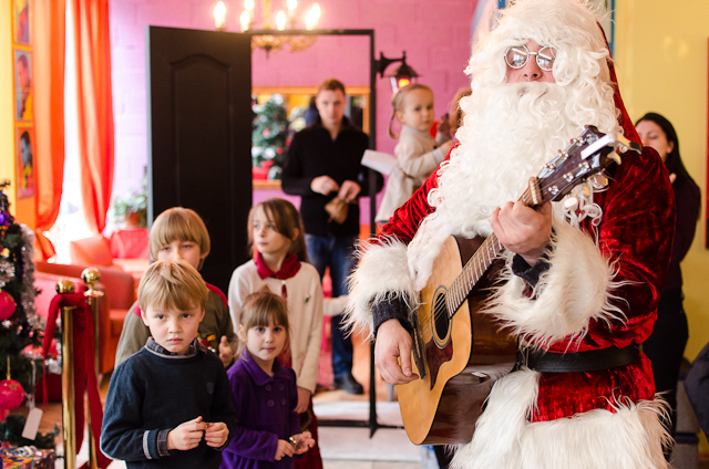 Kalėdinė vaikų šventė darbe