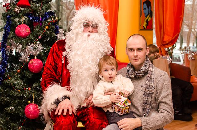 Kalėdų senelis, Adomas ir tėtis