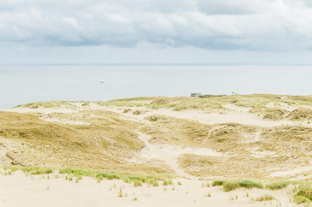 Nida. Marių vaizdas nuo Parnidžio kopos