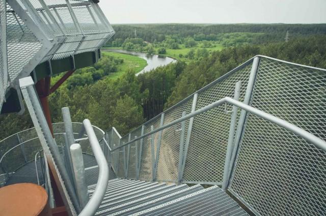 Merkinėje pasitiko aukščiausias apžvalgos bokštas